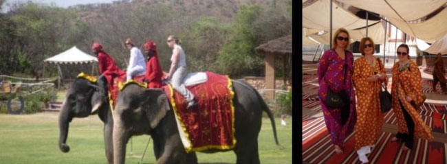 Heather's trip to India