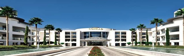 Danielle's visit to the Conrad Algarve